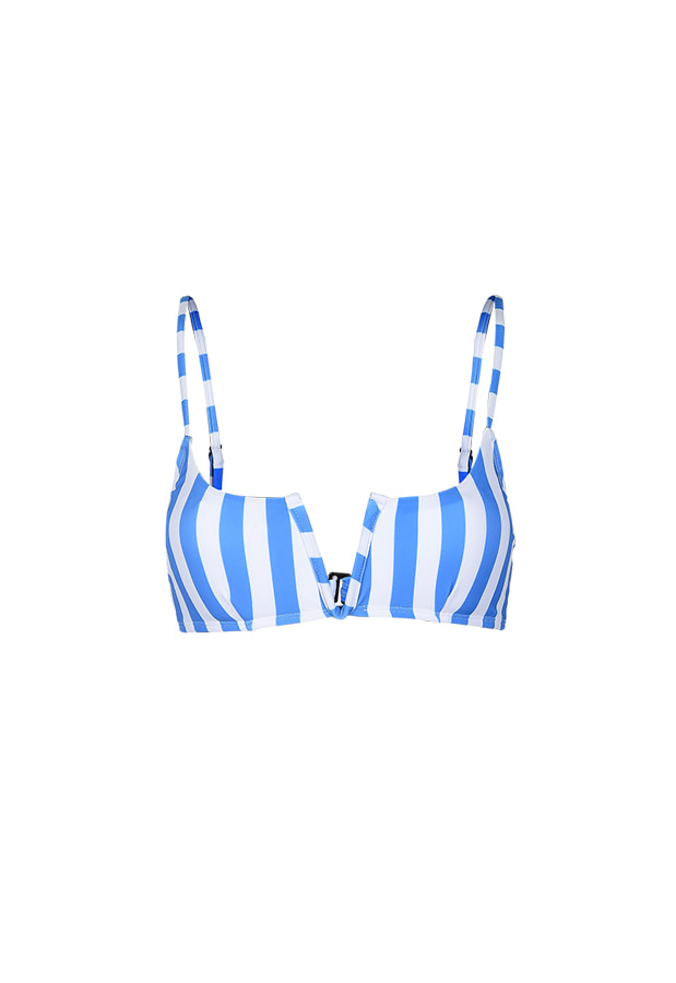 Sarah Top - Blue Stripe